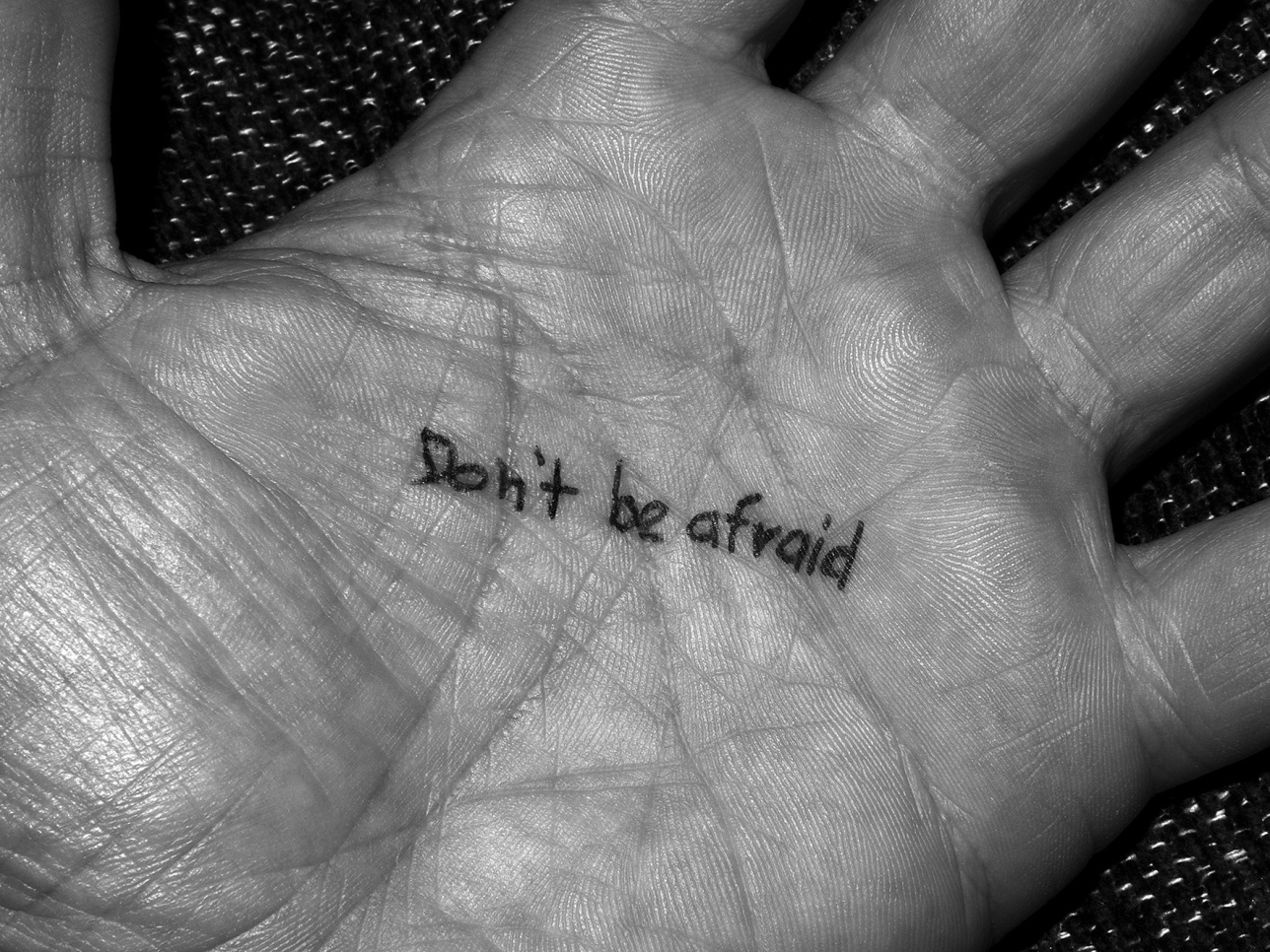 Don't Be Afraid / Nasan Tur