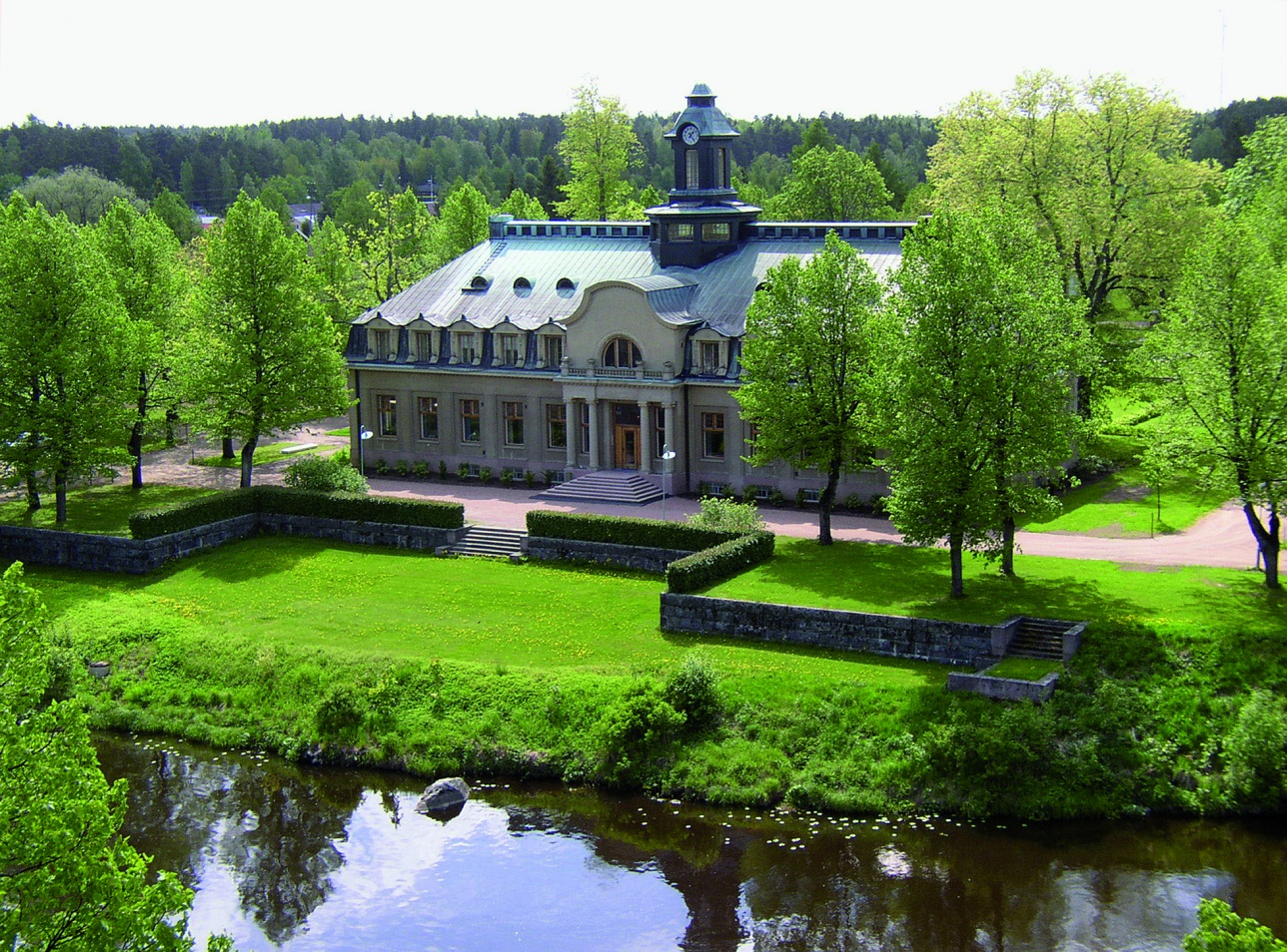The Ahlström Ironworks in Noormarkku is one of Finland's largest and most magnificent ironworks areas.