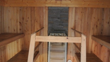 Hostel Riverin sauna