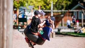 Spend a day with family in Kirjurinluoto Park